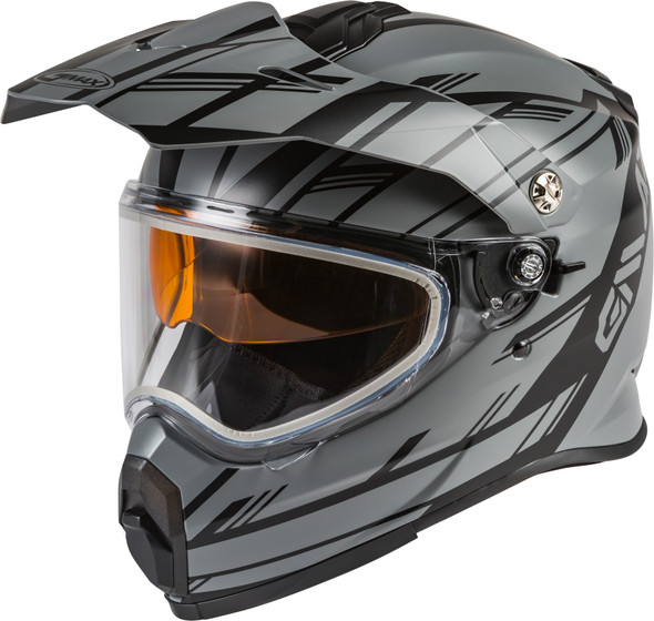 GMAX AT-21S Youth Helmet - Epic w/ Dual Lens Shield