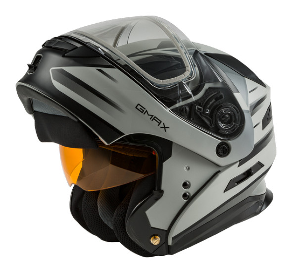 GMAX MD-01S Helmet - Descendant w/ Dual Lens Shield