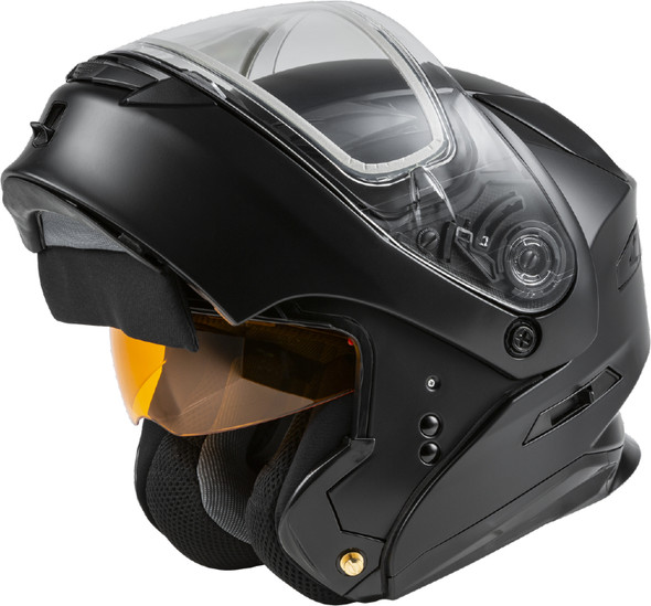 GMAX MD-01S Helmet - Solid Colors w/ Dual Lens Shield