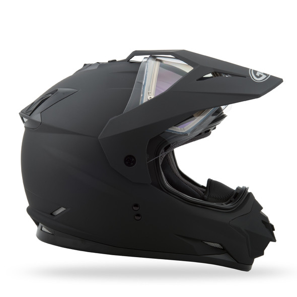 GMAX GM-11S Helmet - Matte Black w/ Electric Shield