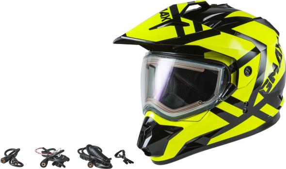 GMAX GM-11S Helmet - Trapper w/ Electric Shield