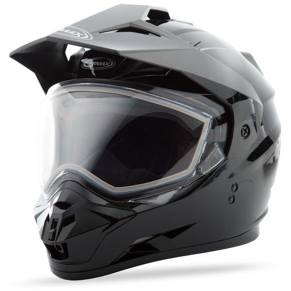 GMAX GM-11S Helmet - Solid Colors w/ Dual Lens Shield