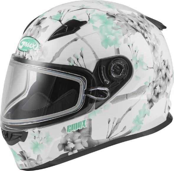 GMAX FF-49S Helmet - Blossom w/ Dual Lens Shield