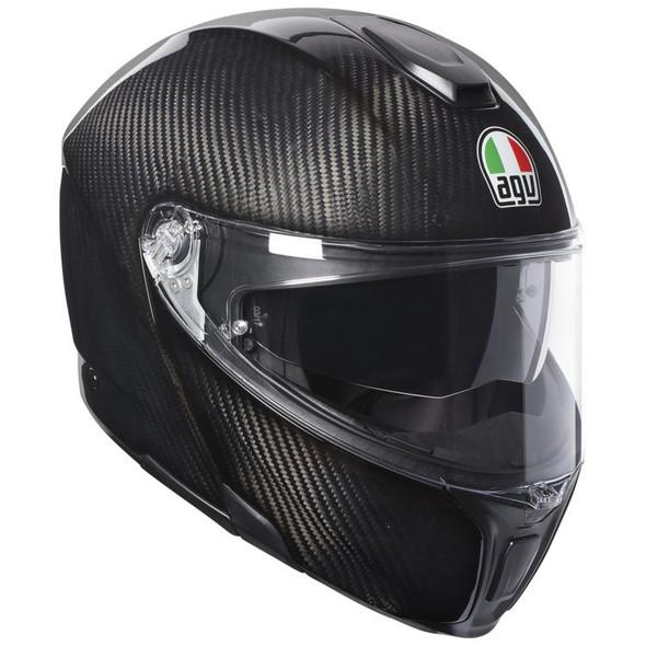 AGV Sportmodular Carbon Helmet - Solid Colors