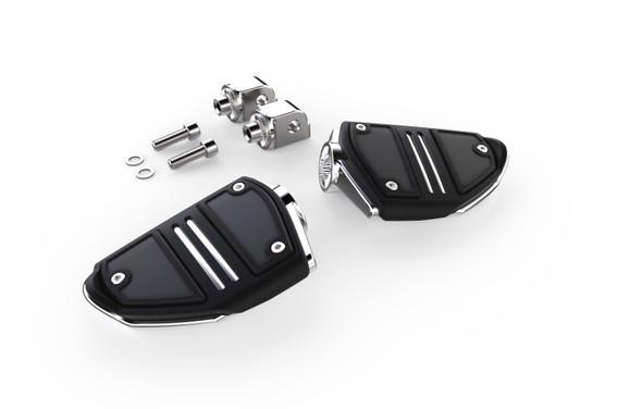Ciro Twin Rail Footrests - Harley Davidson