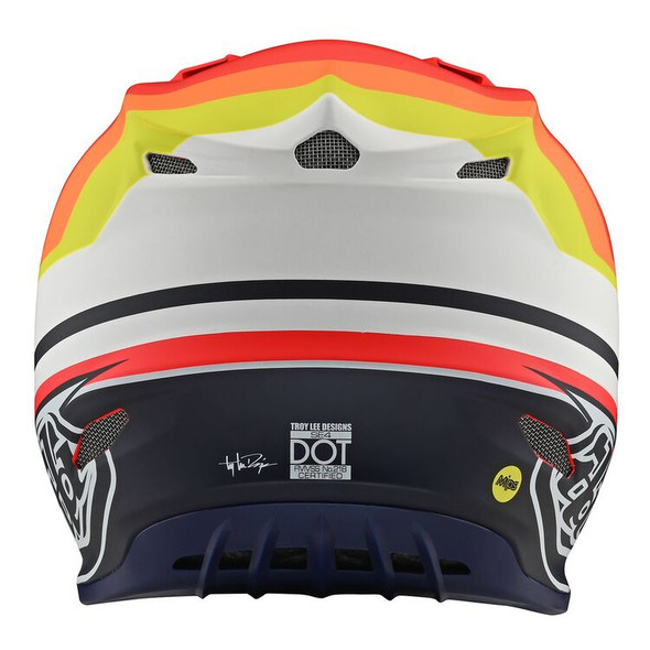 Troy Lee Designs SE4 Composite Helmet - KTM Mirage