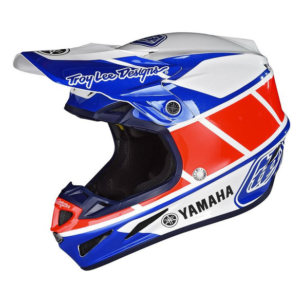 Troy Lee Designs SE4 Composite Helmet - Yamaha RS1