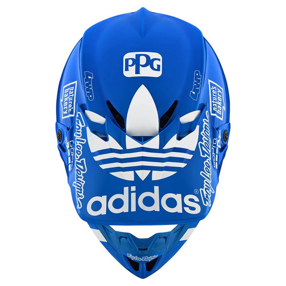 Troy Lee Designs SE4 Composite Helmet - LE Adidas Team Blue