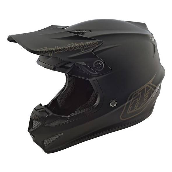 Troy Lee Designs SE4 Polyacrylite Helmet - Mono