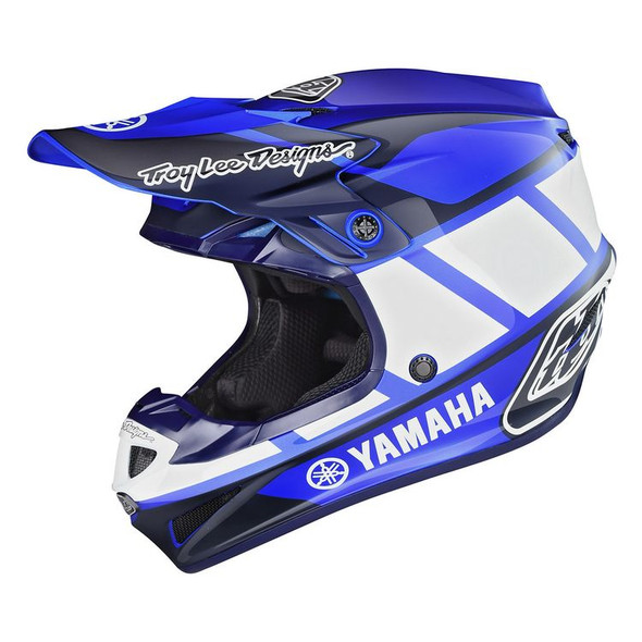 Troy Lee Designs SE4 Polyacrylite Helmet - Yamaha RS1