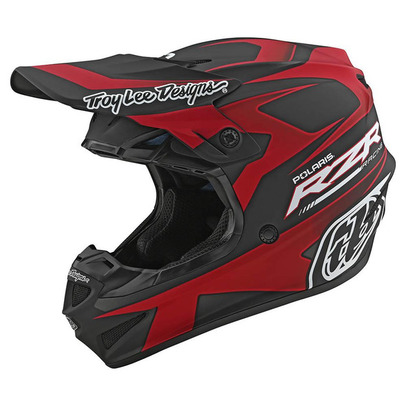 Troy Lee Designs SE4 Polyacrlyite Helmet - Polaris RZR