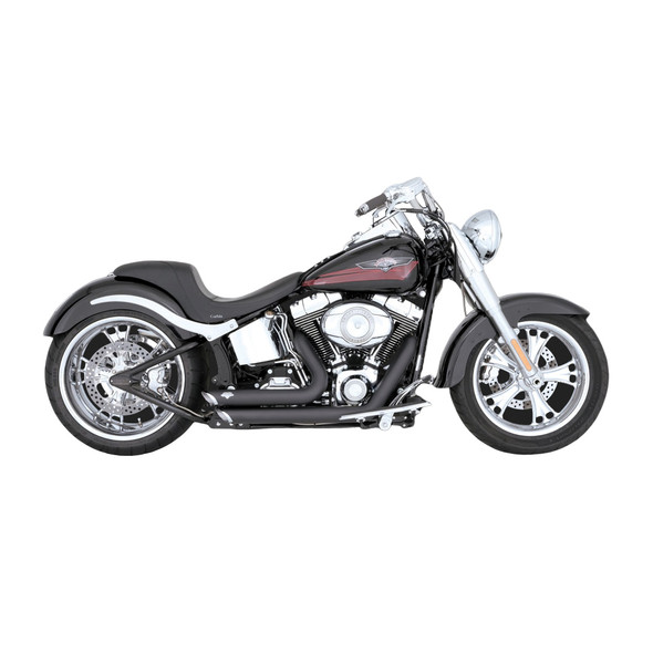 Vance & Hines Shortshots Staggered Exhaust - HD '86-'11 Softail