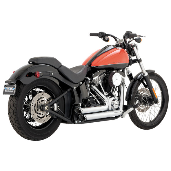 Vance & Hines Shortshots Staggered Exhaust - HD '12-'17 Softail