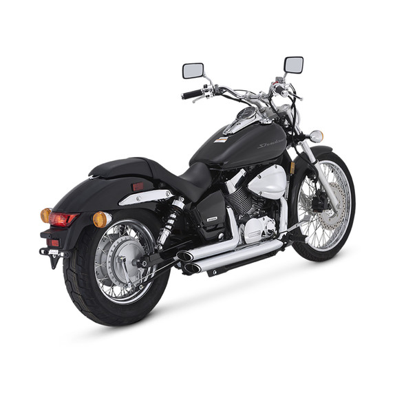 Vance & Hines Shortshots Staggered Full Exhaust: 04-18 Shadow 750 Models
