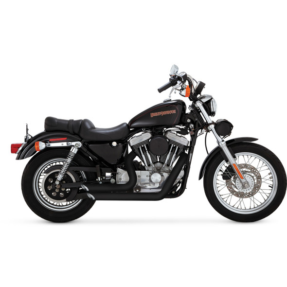 Vance & Hines Shortshots Staggered Exhaust - HD '99-'03 Sportster