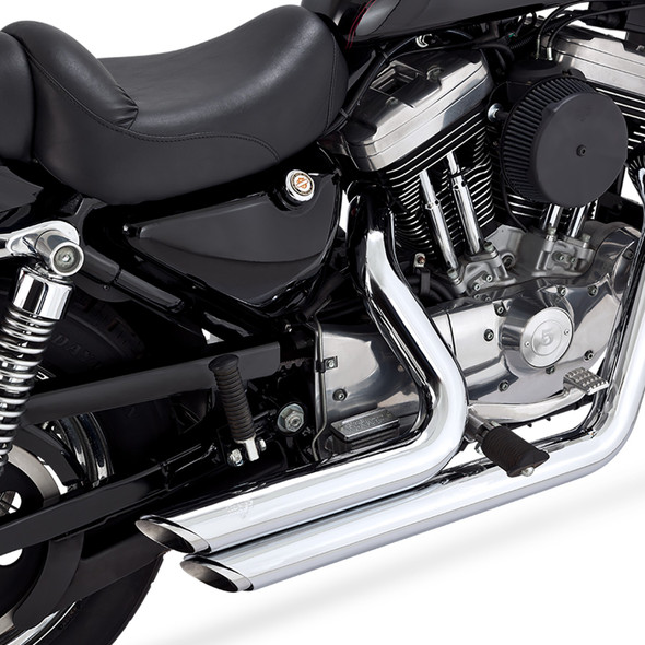 Vance & Hines Shortshots Staggered Full Exhaust: 99-03 Sportster Models