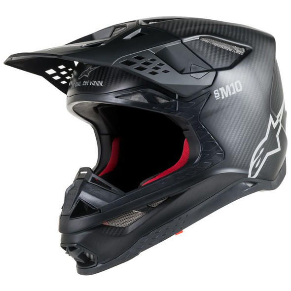 Alpinestars Supertech M10 Carbon Helmet - Solid Colors
