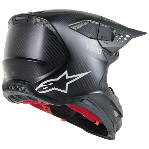Alpinestars Supertech M10 Carbon Helmet - Solid Colors
