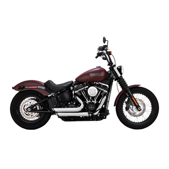 Vance & Hines Shortshots Staggered Exhaust - HD '18-'20 Softail