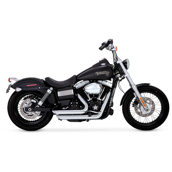 Vance & Hines Shortshots Staggered Full Exhaust: 12-17 Dyna Models