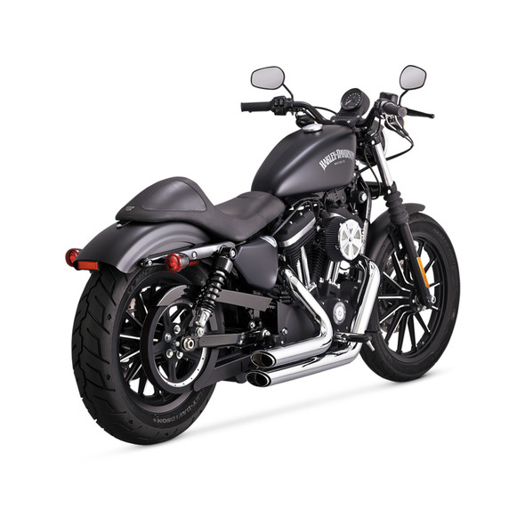 Vance & Hines Shortshots Staggered Exhaust - HD '14-'20 Sportster