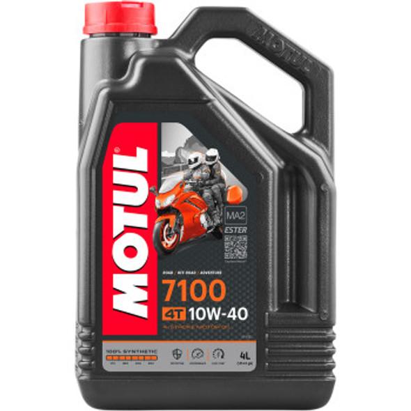 Motul 7100 Synthetic Oil 10w40 4-Liter