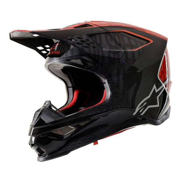 Alpinestars Supertech M10 Carbon Helmet - Alloy
