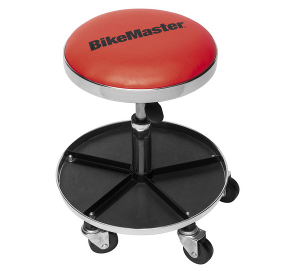 BikeMaster Ultimate Shop Stool With Tool Caddy