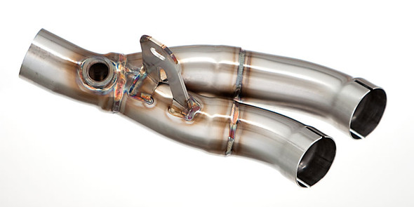 M4 06-20 Yamaha R6 Muffler Box Eliminator Kit (Y-Pipe)