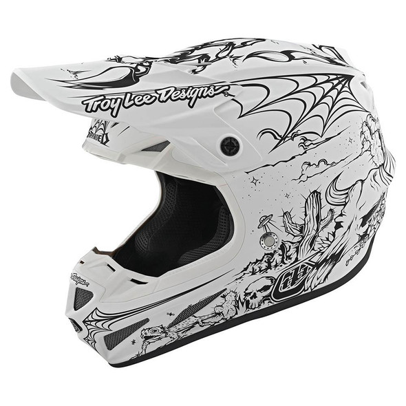 Troy Lee Designs SE4 Composite Helmet - Stranded LTD