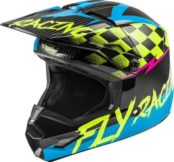 Fly Racing Kinetic Youth Helmet - Sketch