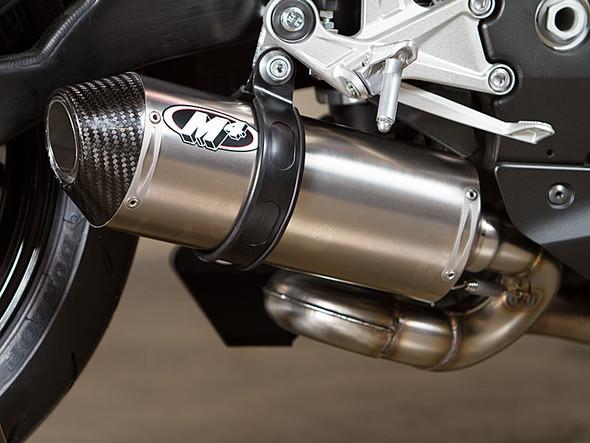 M4 08-16 Honda CBR1000RR Street Slayer Slip-On Exhaust - Titanium Canister
