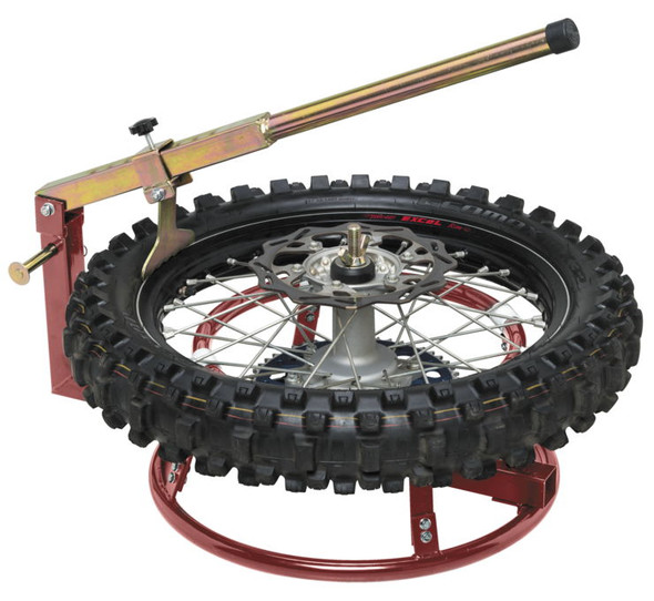 BikeMaster Tire Change Stand With Bead Breaker