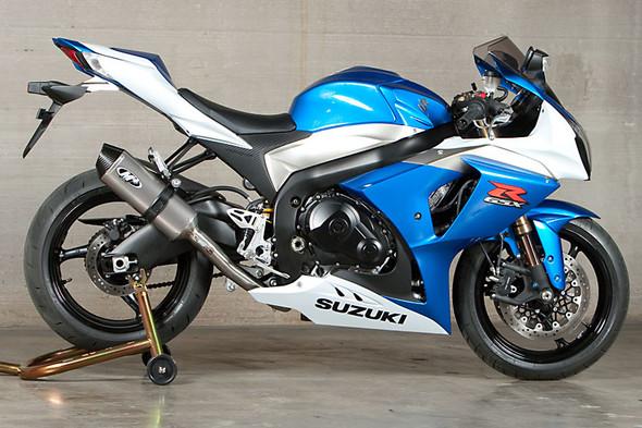 M4 09-11 Suzuki GSX-R 1000 Full Exhaust - Titanium Canister