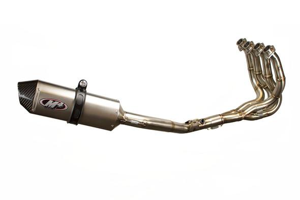 M4 08-10 Suzuki GSX-R 600/750 Full Exhaust - Titanium Canister