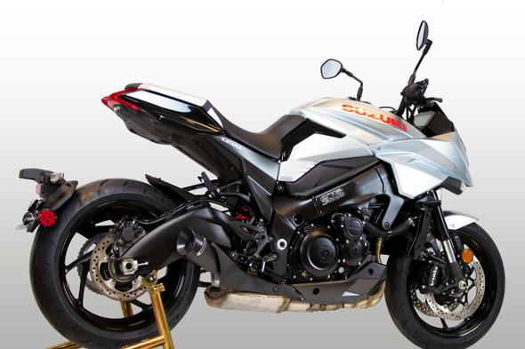 M4 2020 Suzuki Katana GP19 Slip-On Exhaust - Black Canister