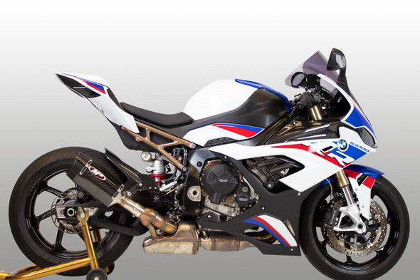 M4 2020 BMW S1000RR Tech1 Slip-On Exhaust - Carbon Canister
