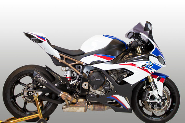 M4 2020 BMW S1000RR GP19 Slip-On Exhaust - Black Canister