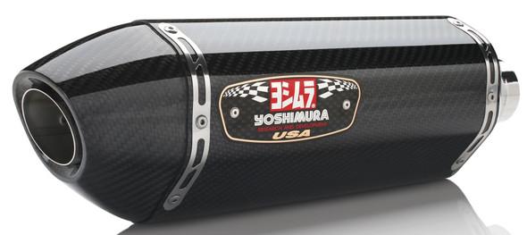 Yoshimura 08-19 Suzuki Hayabusa - R-77 Signature Slip-On Exhaust - Dual Canister