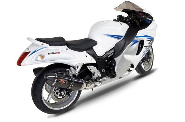 Yoshimura 08-19 Suzuki Hayabusa - R-77 Street Slip-On Exhaust - Dual Canister