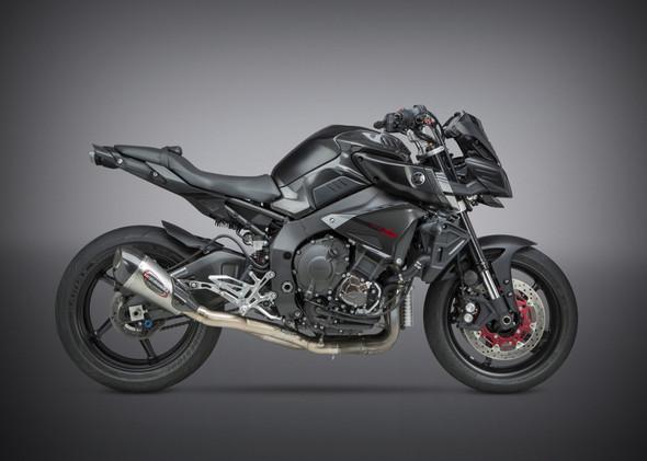 Yoshimura 17 Yamaha  FZ10 / 18-19 MT10 - Alpha T Race Works 3/4 Slip-On Exhaust - SS/SS/CF