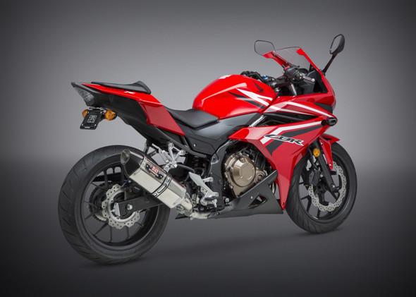 Yoshimura 16-18 Honda CBR 500R / 17-19 - CB 500F R-77 Signature Slip-On Exhaust