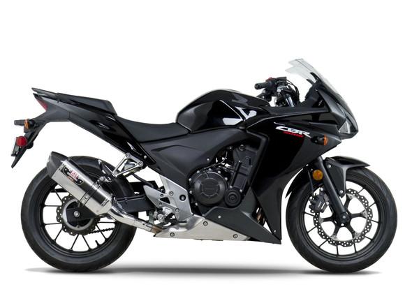 Yoshimura 13-15 Honda - CBR 500R / CB 500F R-77 Street  Slip-On Exhaust