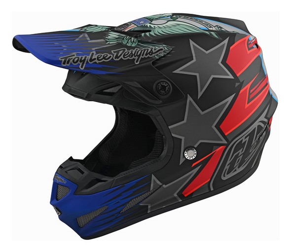 Troy Lee Designs SE4 Carbon Helmet - Liberty LTD