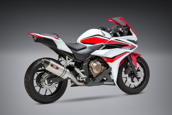 Yoshimura 16-18 Honda CBR 500R / 17-18 CB 500X - R-77 Race Works Full Exhaust