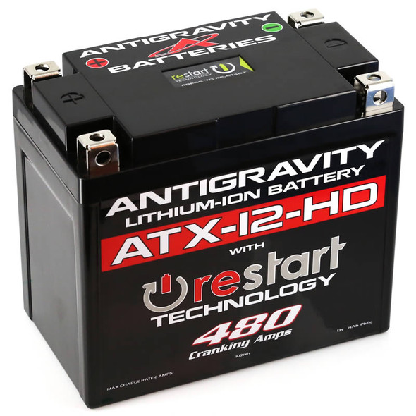 Antigravity Batteries Lithium Battery - ATX12-HD-RS - 480 CA