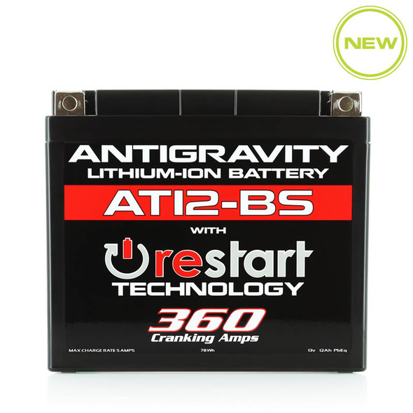 Antigravity Batteries Lithium - AT12BS-RS - 360 CA