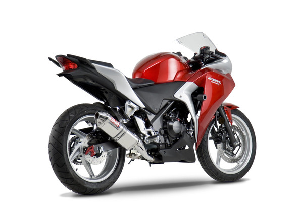 Yoshimura 11-13 Honda CBR 250R - Race TRC Slip-On Exhaust - SS/SS/SS