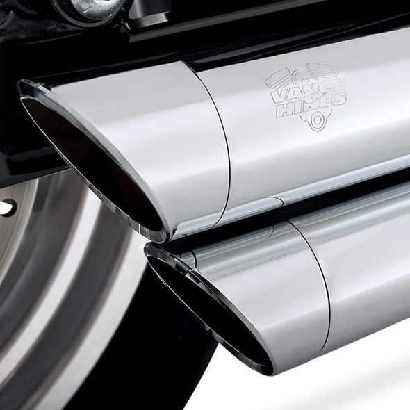 Vance & Hines Big Shots Staggered Full Exhaust: 06-17 Dyna Models