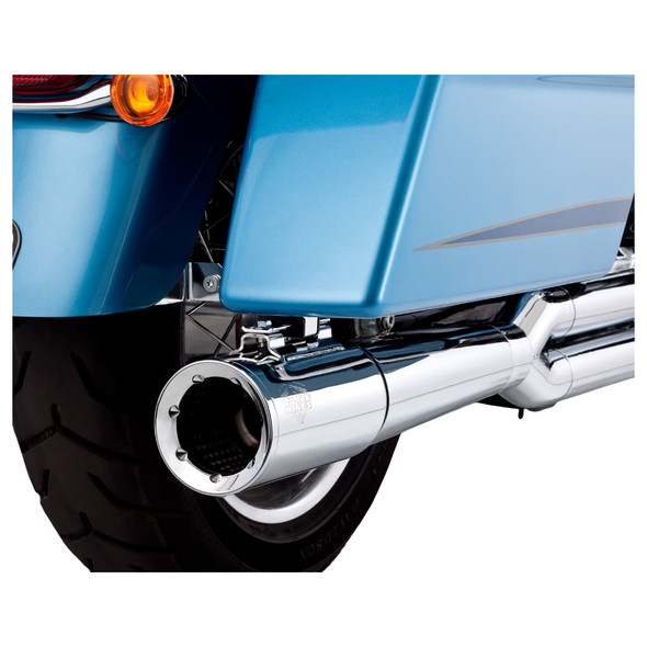 Vance & Hines Pro Pipe 2 into 1 Exhaust - HD '10-'13 Touring - Chrome